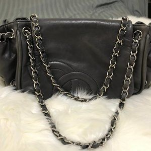Chanel Diagonal Ligne Accordion Shoulder Bag